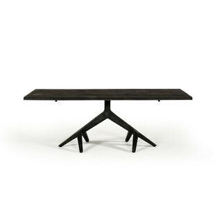 Mcclellan Solid Wood Dining Table by Ivy Bronx