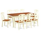 Pilger Extendable Solid Wood Dining Set by August Grove®