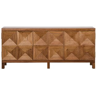 3 Door Quadrant Sideboard Noir