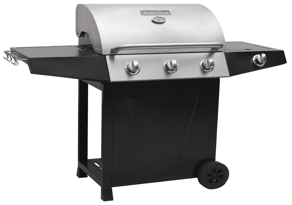 Royal Craft Classic 400 Barbecue with Hood and Side Burner | Wayfair ...