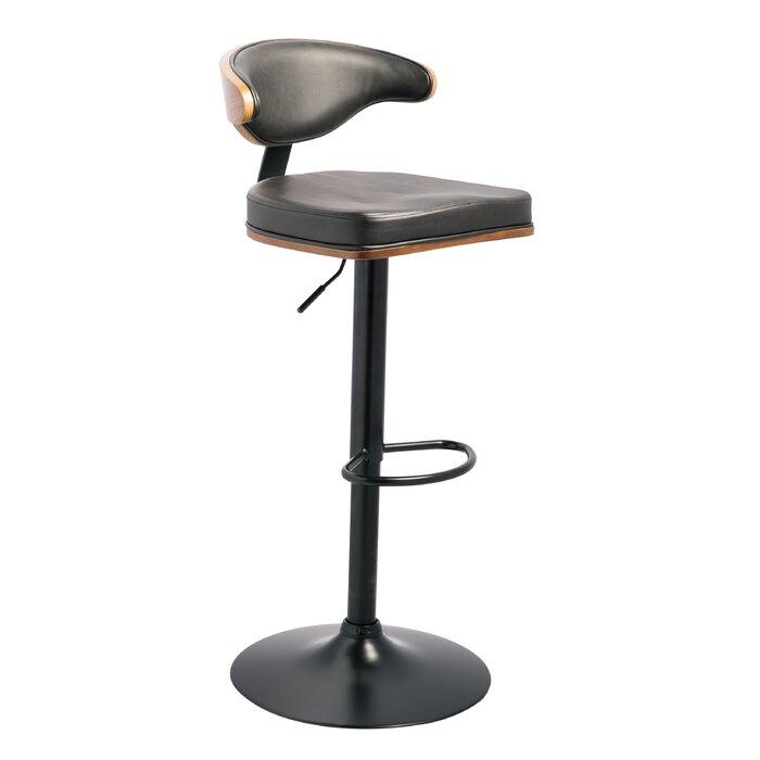 Admirable Atropos Adjustable Height Swivel Bar Stool Cjindustries Chair Design For Home Cjindustriesco
