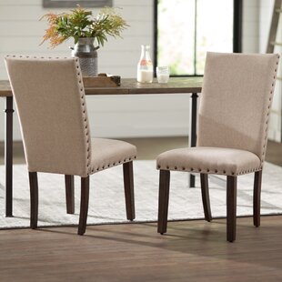 Ismay Upholstered Dining Chair (Set of 2) Three Posts