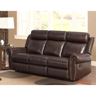 Jayne Leather Reclining Sofa