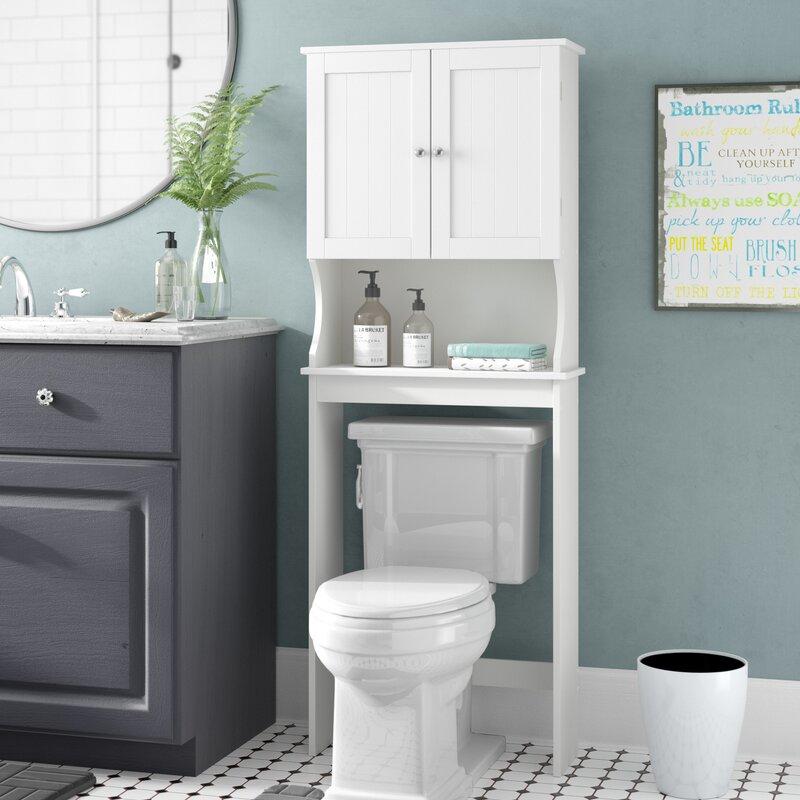 Rebrilliant Rangement au-dessus de la toilette H 62 po x l 23,63 po et Commentaires | Wayfair.ca