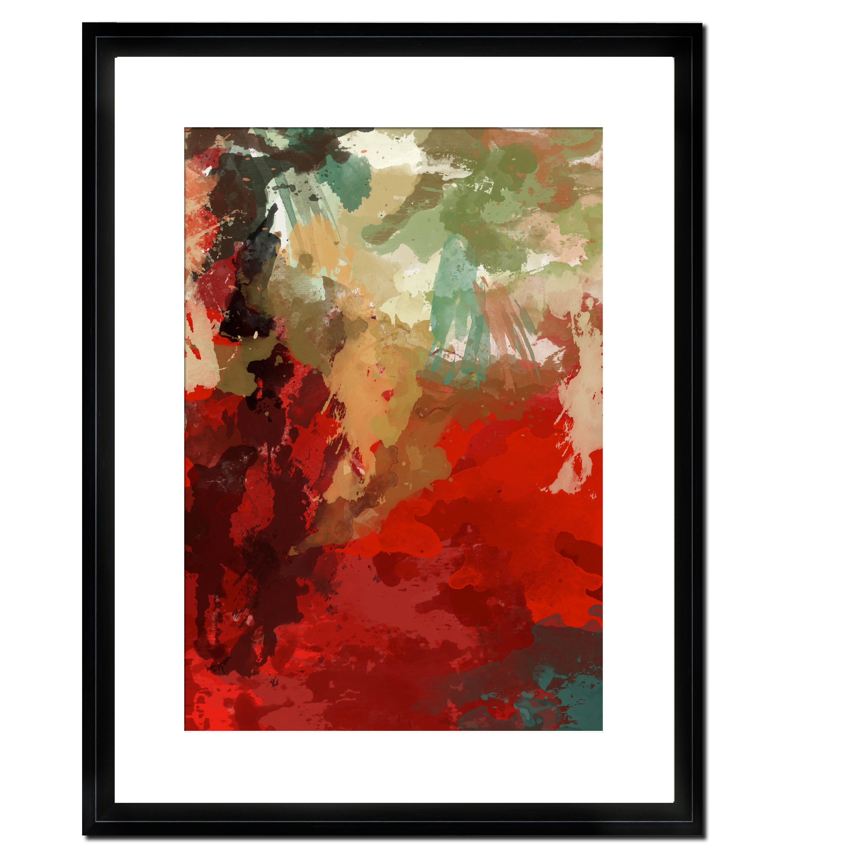 Ptm Images Crimson Peak I Framed Graphic Art On Paper Wayfair
