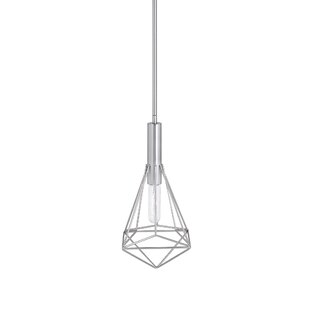 Wrought Studio Charles 1 -Light LED Geometric Pendant