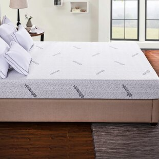 Cr Sleep Ventilated Twin Memory Foam Mattress Pad