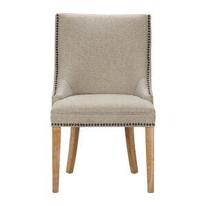 Yamna Upholstered Dining Chair by Ophelia..