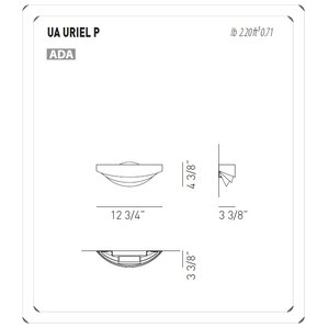 Attractive Uriel 1 Light Wall Sconce In Pearl Part 31