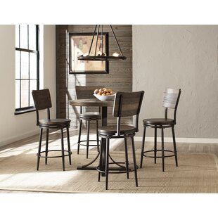 Putney 5 Piece Counter Height Breakfast Nook Dining Set