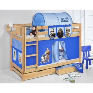 Jelle Bunk Bed With Curtain By Zoomie Kids