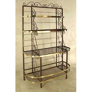 Karol Wrought Iron Baker's Rack