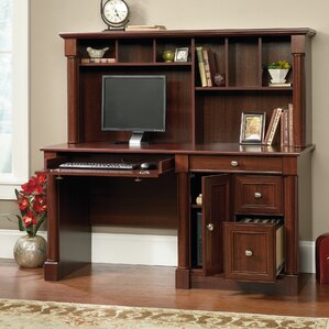 elaine computer desk with hutch