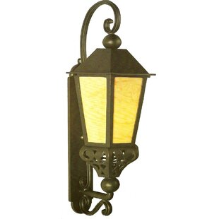 Comparison Phillipstown 1-Light Outdoor Wall Lantern By Alcott Hill