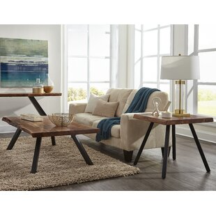 Crissman 3 Piece Coffee Table Set