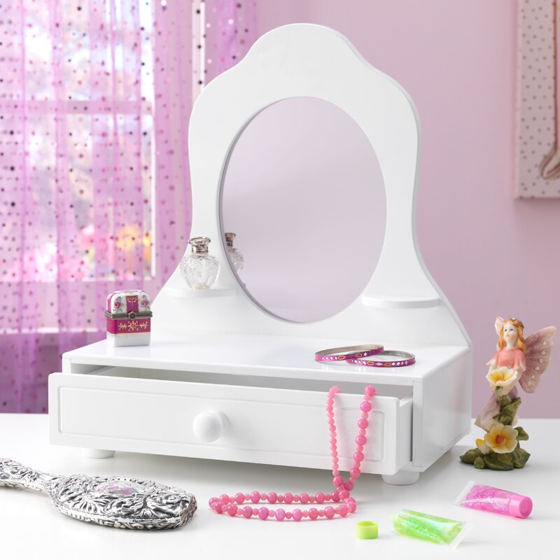 Tabletop Vanity With Mirror