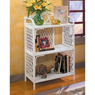 outlet store 89e1c 1a091 Rattan Wicker Bookcase   Wayfair
