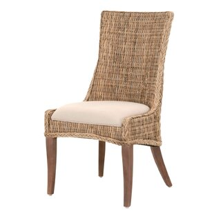 Jewell Solid Wood Dining Chair (Set of 2) Rosecliff Heights