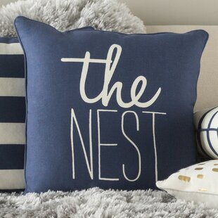 Yahya The Nest Cotton Throw Pillow Cover