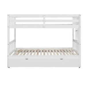 Mequon Twin Over Twin Standard Bed with Trundle by Harriet Bee