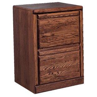 Loon Peak Holt 2-Drawer File Cabinet