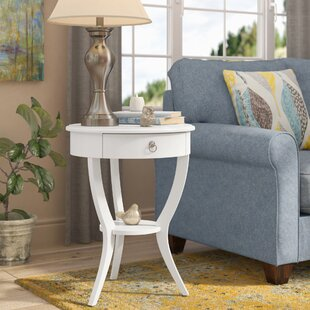 Three Posts Beekman End Table With Storage