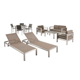 Smartt 10 Piece Complete Patio Set