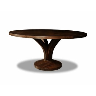 Paschke Solid Wood Dining Table Gracie Oaks