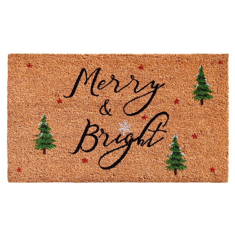 Bradly Yule Non Slip Outdoor Door Mat by Hashtag Home