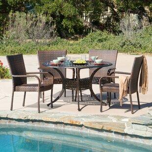 Highland Dunes Ullery 5 Piece Dining Set