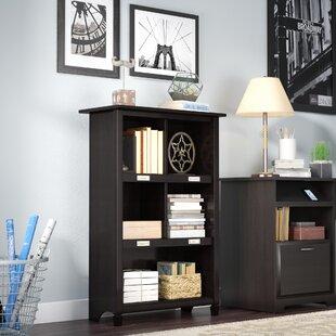 Lamantia Geometric Bookcase by Three Posts