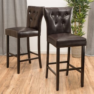 Gilland 30 Bar Stool (Set Of 2) by DarHome Co New