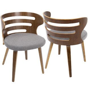 Baehr Mid-Century Modern Upholstered Dining Chair