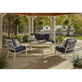Mimosa 4 Piece Sofa Seating Group with Sunbrella by Klaussner Furniture