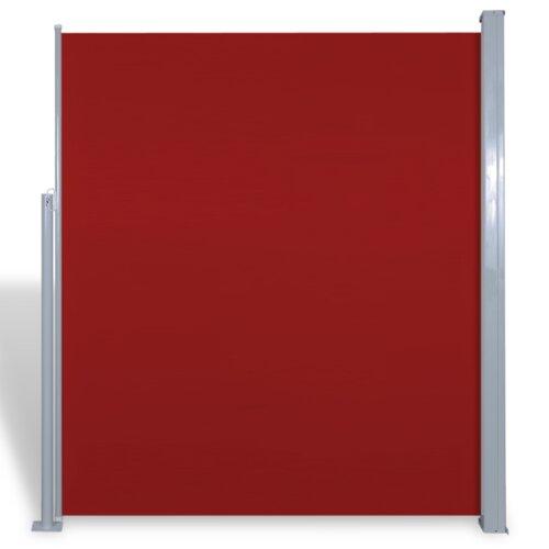 Seitenmarkise Garten Living Farbe: Rot| Größe: 3 m B x 1|6 m T | Garten > Balkon > Sichtschutz | Garten Living