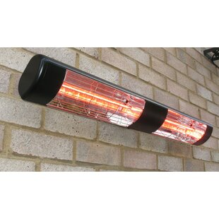 Kaplan Dual Electric Patio Heater By Sol 72 Outdoor