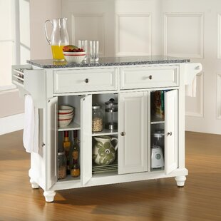 Cambridge Kitchen Island with Granite Top Crosley