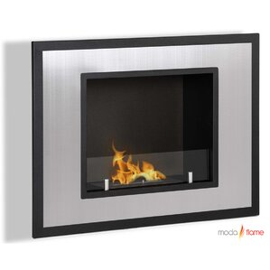 Rio Wall Mount Ethanol Fireplace by Moda Flame