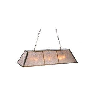 Meyda Tiffany Tri-Panel 9-Light Pool Table Lights Pendant