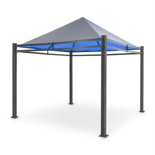 Pantheon Illumina 3m X 3m Aluminium Patio Gazebo By Blumfeldt