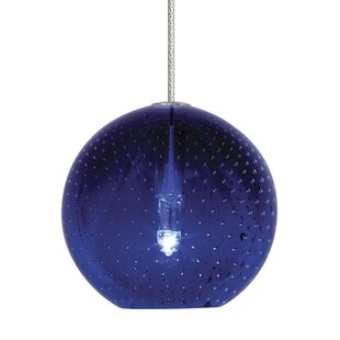 Dejesus 1-Light Globe Pendant by Orren Ellis