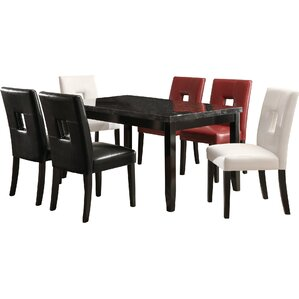 Wickliffe 7 Piece Dining Set by Varick Gallery
