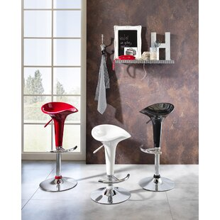 Aathrey Height Adjustable Swivel Bar Stool (Set Of 2) By 17 Stories