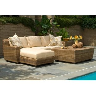 Saddleback Sectional Seating Group with Cushions