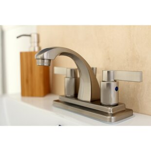 Kingston Brass NuvoFusion Centerset Bathroom Faucet with Pop-Up Drain
