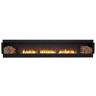 FLEX158 Single Sided Wall Mounted Bio-Ethanol Fireplace Insert