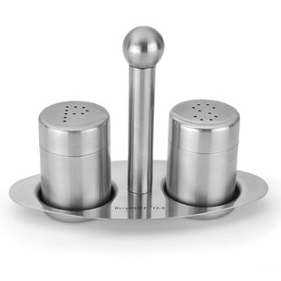 3 Piece Salt and Pepper Shaker Set