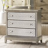 Jacqueline 3 Drawer Accent Chest by Willa Arlo Interiors