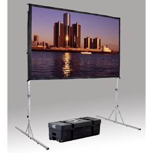 Best Fast Fold Deluxe 69 H x 108 W Portable Projection Screen By Da-Lite