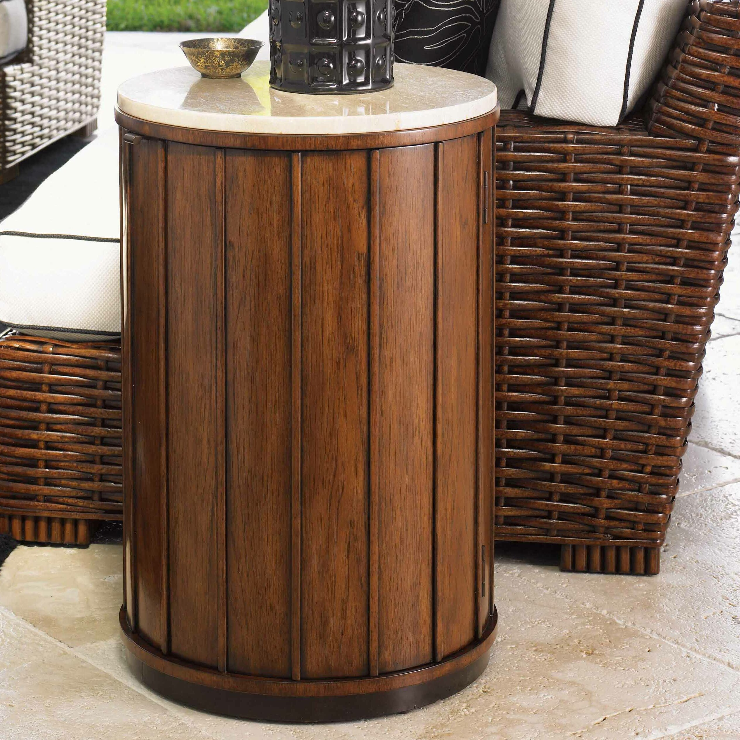 Tommy Bahama Home Ocean Club Fiji End Table Amp Reviews
